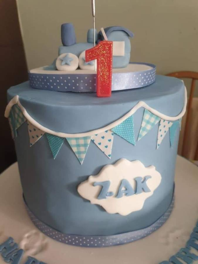 Day 14 - Zacs birthday cake