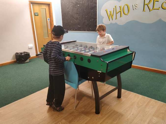 Day 9 - Table Football at Concord Millenium Centre
